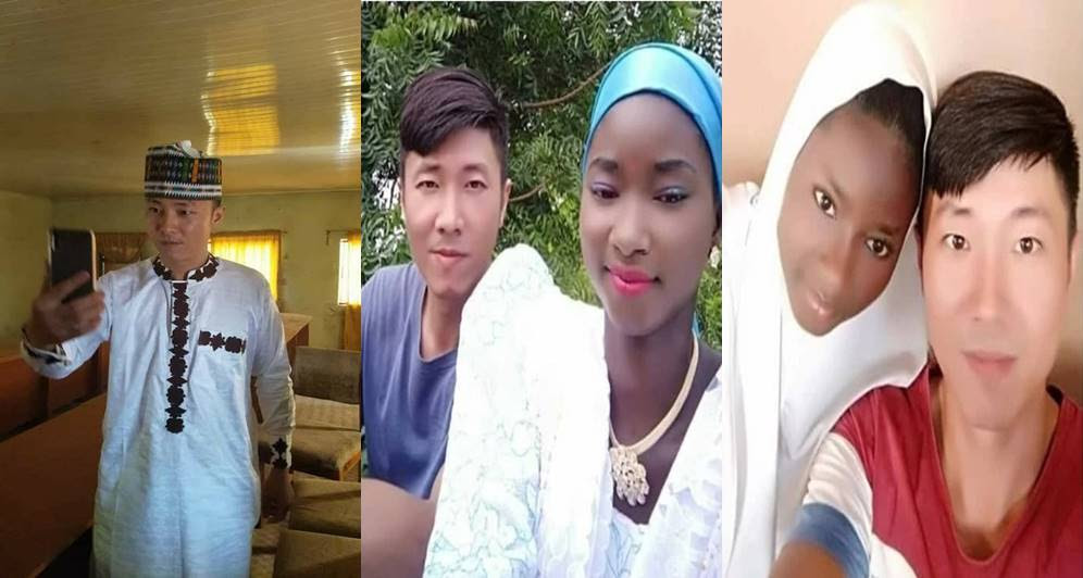Chinese Man Embraces Islam, Marries Nigerian Muslim Girl (Photos)