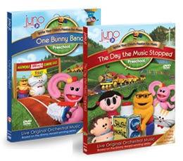 Juno Jr. DVDs