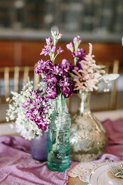 Purple Boho Rustic Chic Wedding