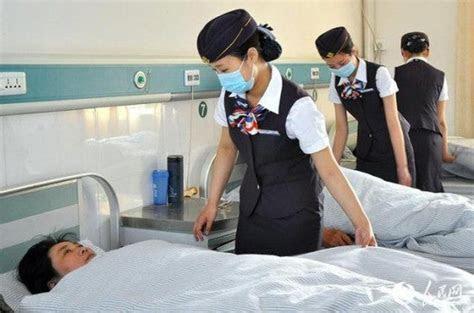 Nurses at Chinese Hospital Dress Like Flight Attendants