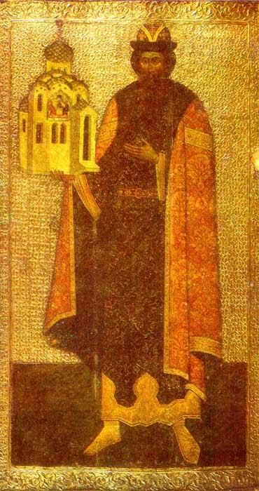 IMG ST.  GABRIEL, Prince Vsevolod Wonderworker of Pskov