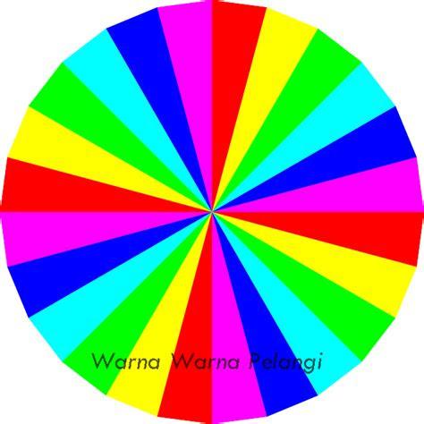 warna pelangi makna berbagai warna melihat kepribadiaan