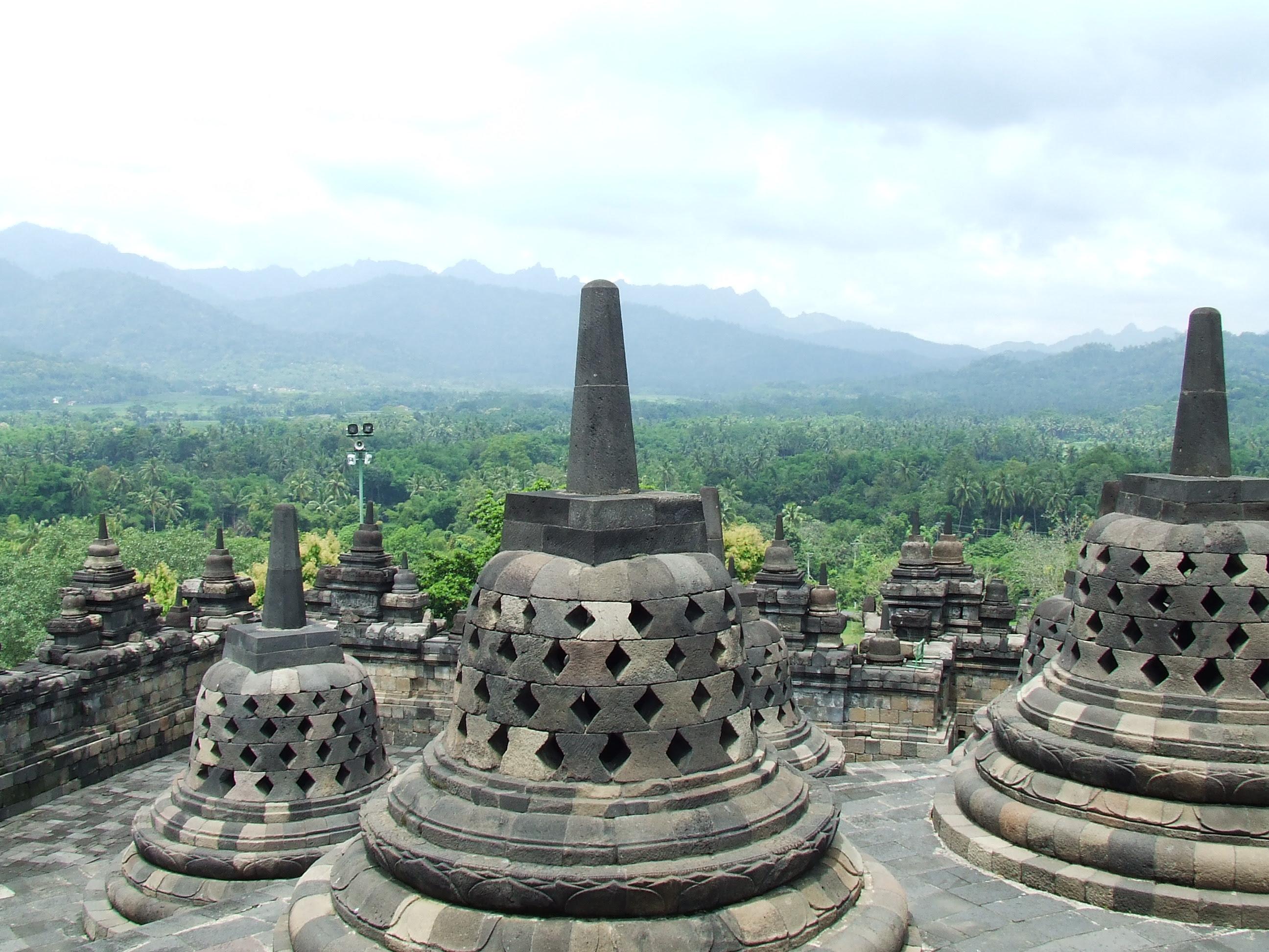 72 Gambar Sketsa Pensil Candi Borobudur Terlihat Keren