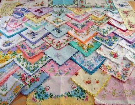 102 best vintage handkerchiefs images on Pinterest