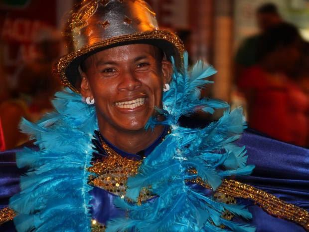 """Bloco de fantasia """"Os Normais"""", em Bragança, no Pará (Foto: Luciana Lemos/Arquivo pessoal)"""