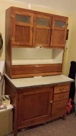 Antique Wood kitchen Hoosier Cabinet - for Sale in Denver ...