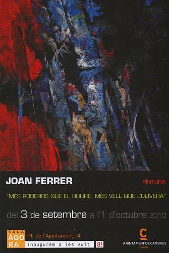 Joan Ferrer exposa a Cambrils