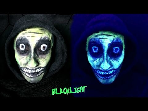 FX MAKEUP : Glow in the Dark
