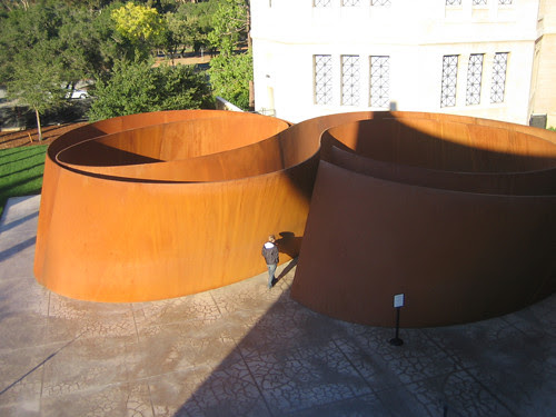 Sequence, Steel, Richard Serra, Cantor Art Museum, Stanford University, California _ 0691