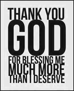 Thank You God For Blessing Me Quote Picture