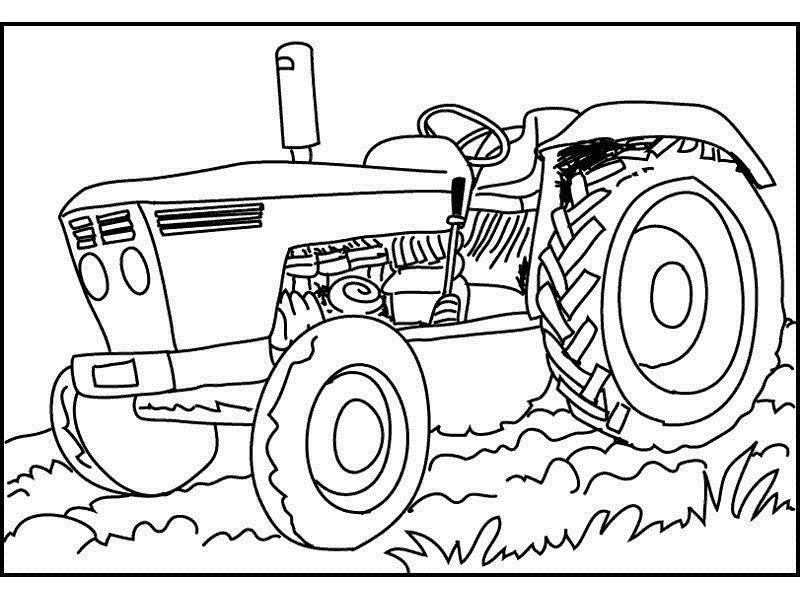 19 Best Ausmalbilder Traktor Massey Ferguson