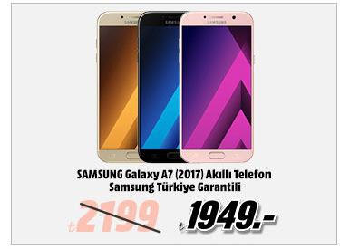SAMSUNG Galaxy A7 (2017) Akıllı Telefon Samsung Türkiye Garantili 1949TL
