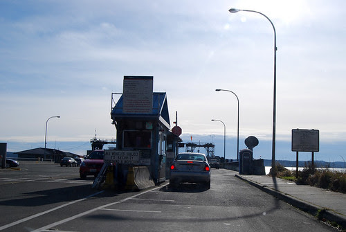 SR 20 @ Port Townsend Dock