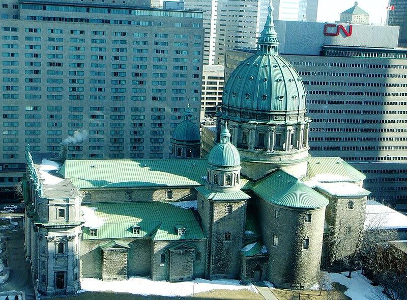 La cathédrale Marie-Reine-du-Monde de Montréal