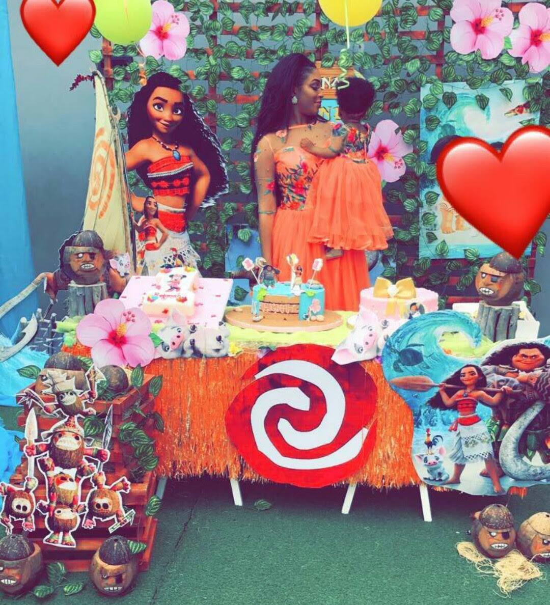A Moana Themed Birthday Party Was Thrown By Dabota Lawson