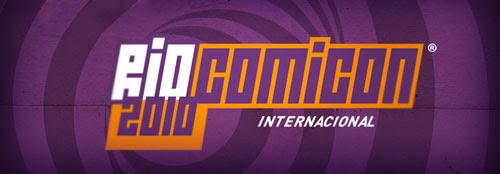 logo comicon RJ 2010