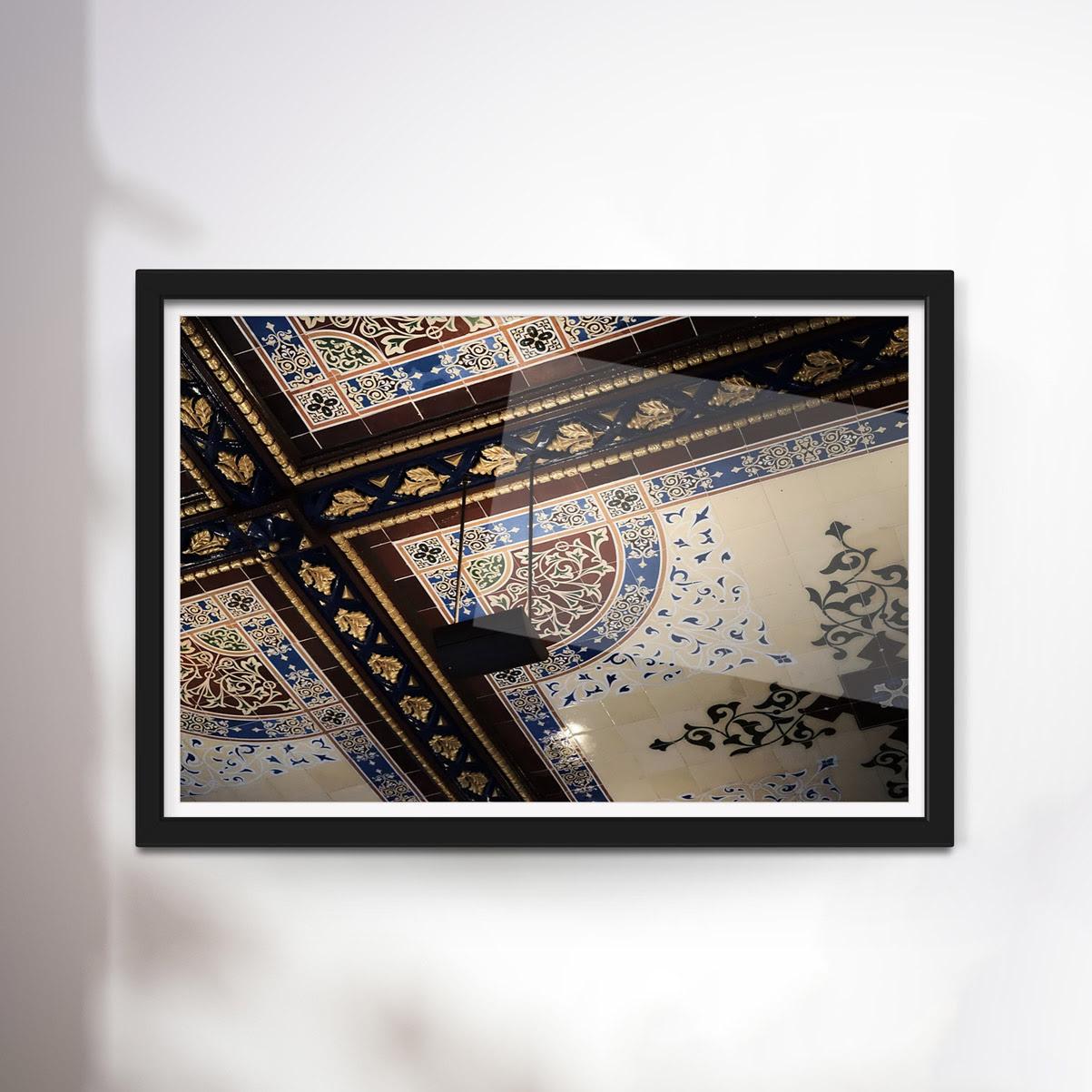 Jonathan Burnham Vi Framed Artefakt