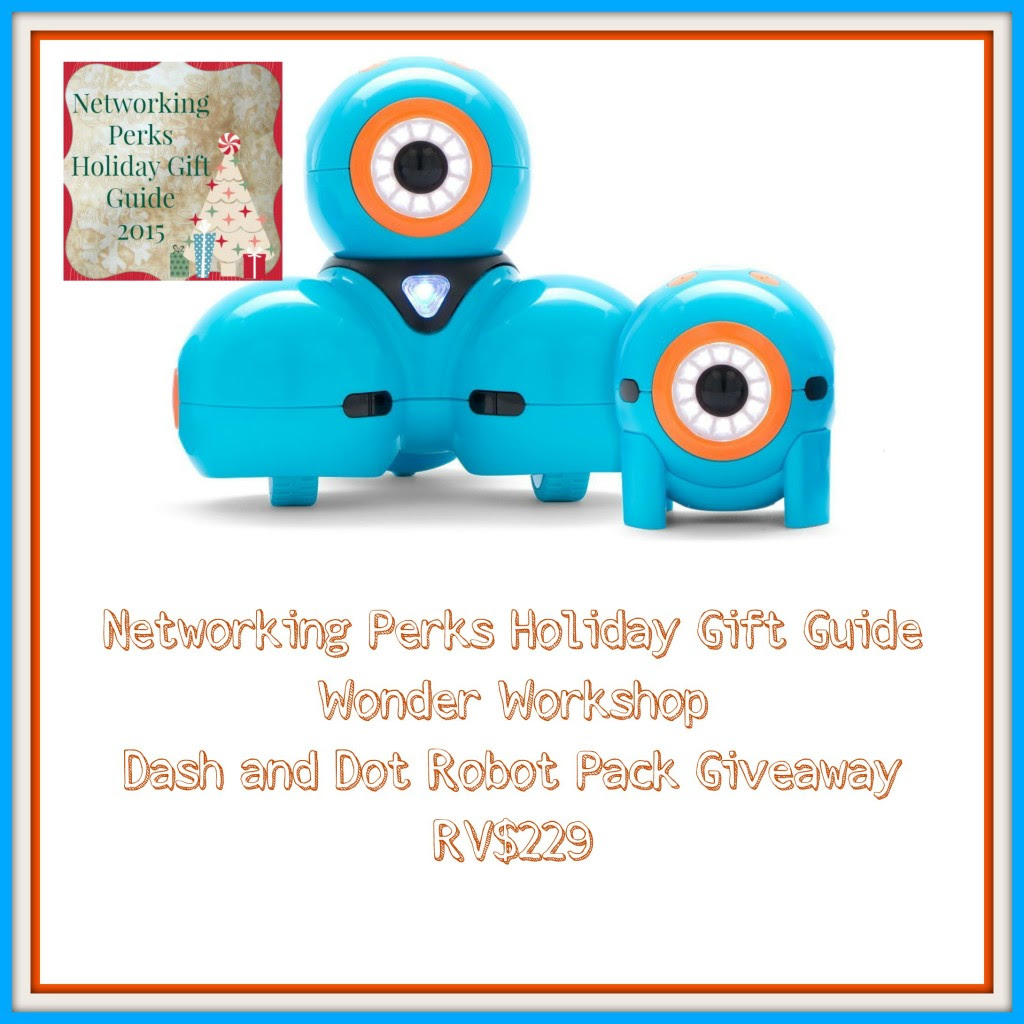 Enter the Dash & Dot Robot Giveaway. Ends 11/11