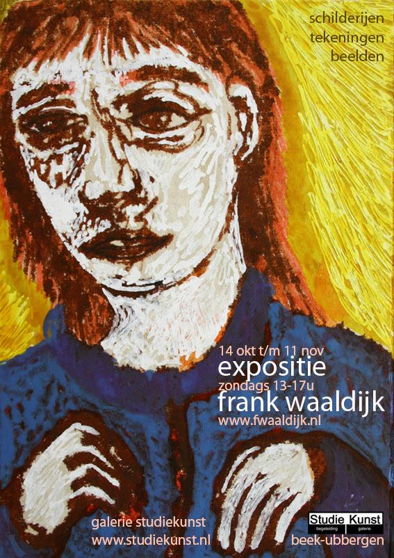 frank waaldijk, exhibition in galerie studiekunst