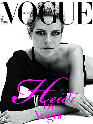 Heidi Klum Vogue Magazine by Victoria´s Secret Show