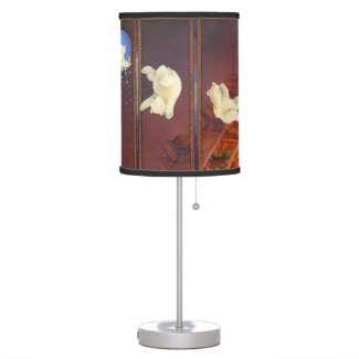 The Christmas Bear Desk Lamp