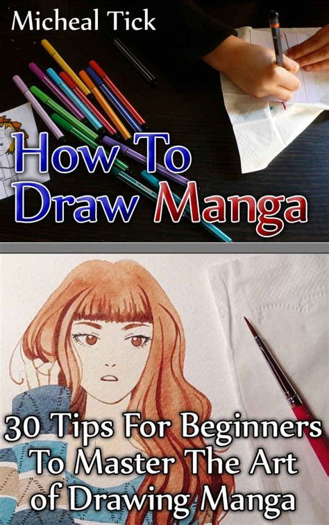 draw manga  tips  beginners  master  art