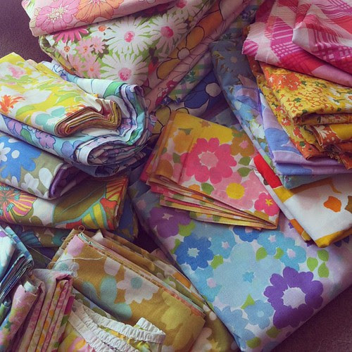 Vintage Sheets by Jeni Baker