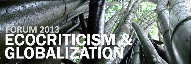 Logo Ecocriticism and Globalization, Photo (c) Hanna Straß
