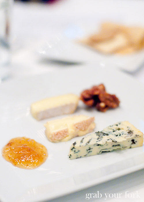 Becasse cheese plate