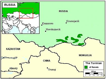 Tuvinian, Uriankhai in Russia