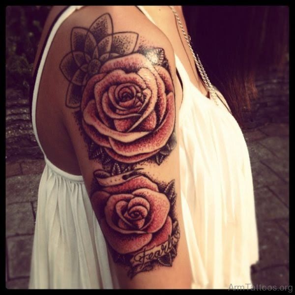 93 Best Flower Tattoos For Arm