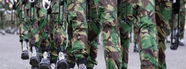 Militares terão de cumprir 40 anos de serviço