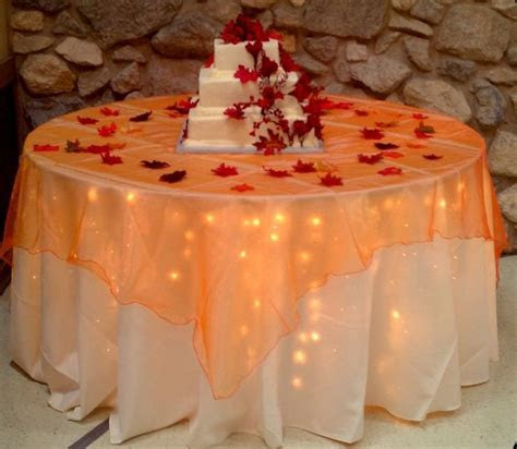 Fall decor for cake table!   Weddings in 2019   Fall