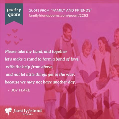 family  friends friends im  poem
