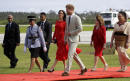 Royals Harry and Meghan arrive in Tonga on Pacific tour
