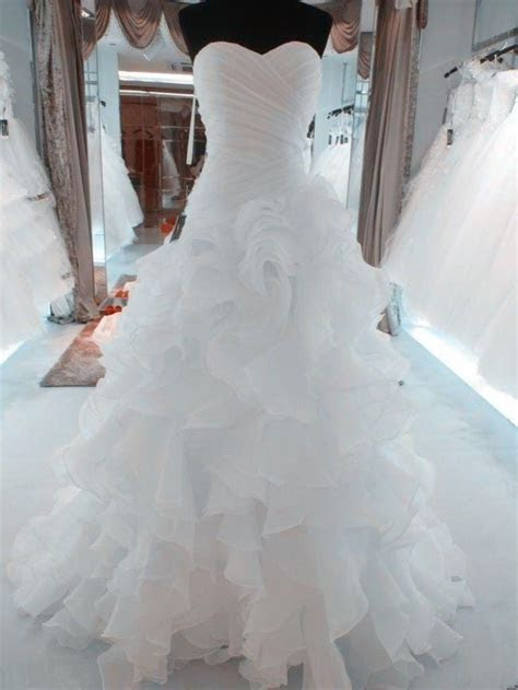 Best 25  Organza wedding dresses ideas on Pinterest