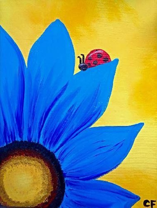 Paint Easy Painting Ideas On Canvas For Beginners