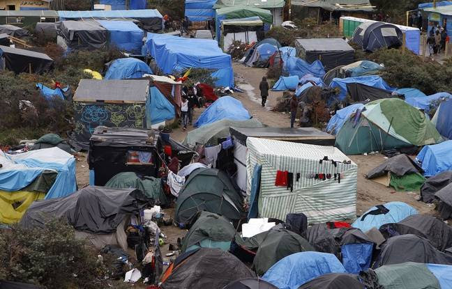 La Jungle à Calais.