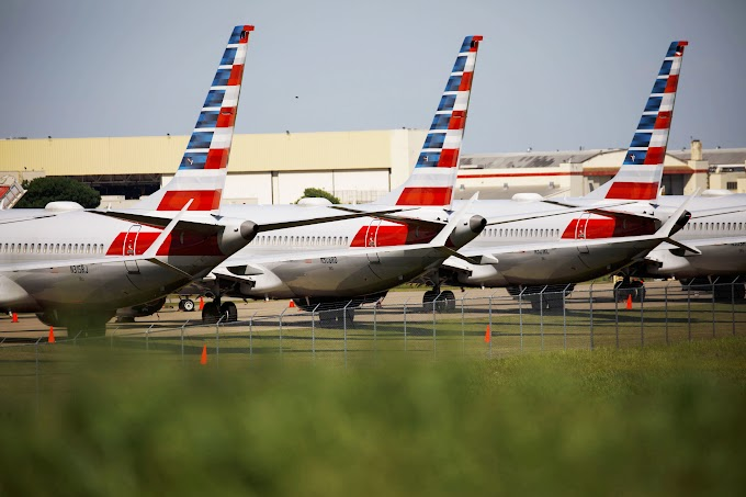 American Airlines cancels Boeing 737 Max flights through Nov. 2 as planes stay grounded