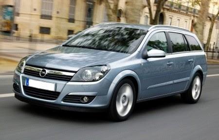 Opel Astra H Caravan. Opel Astra Caravan