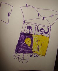 Isabelles drawing of us