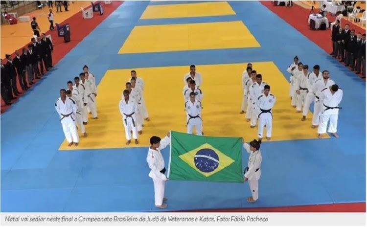 Natal vai sediar o Campeonato Brasileiro de Judô de Veteranos e Katas