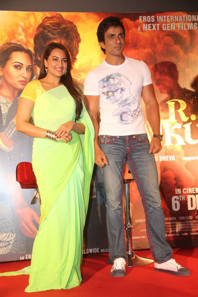 Sonu Sood Images With Sonakshi Sinha
