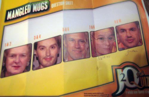 Mangled Mugs at J20 Pub Quiz
