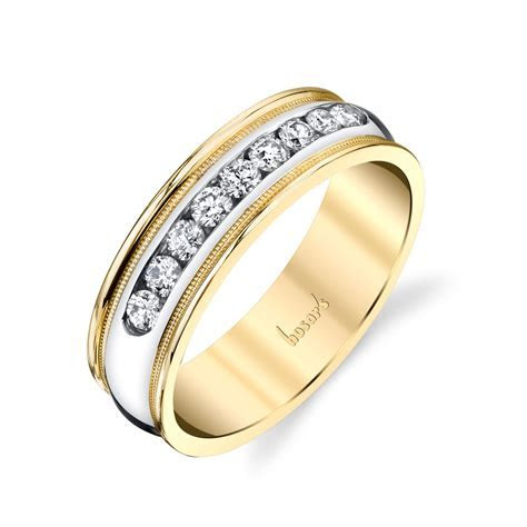 Husar's House of Fine Diamonds. 14Kt White and Yellow Gold