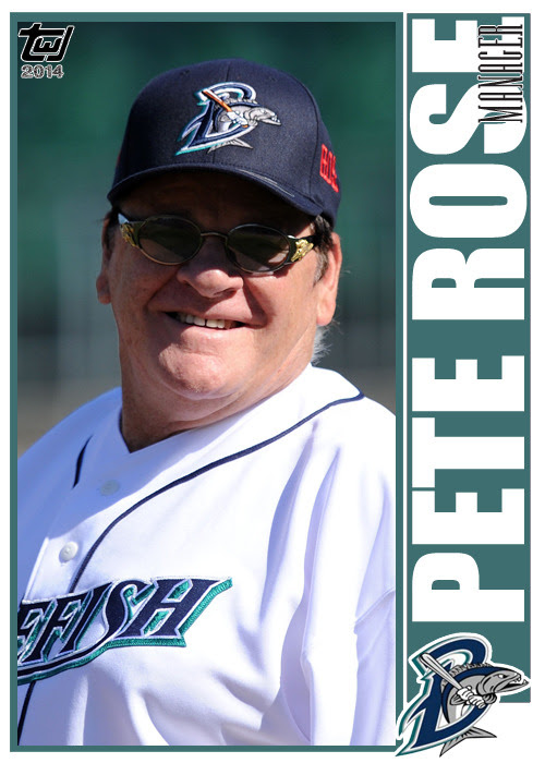 "twjcards:<br /><br />Special card, unnumbered, Pete Rose ""MANAGER""<br />The Writer's Journey<br />"