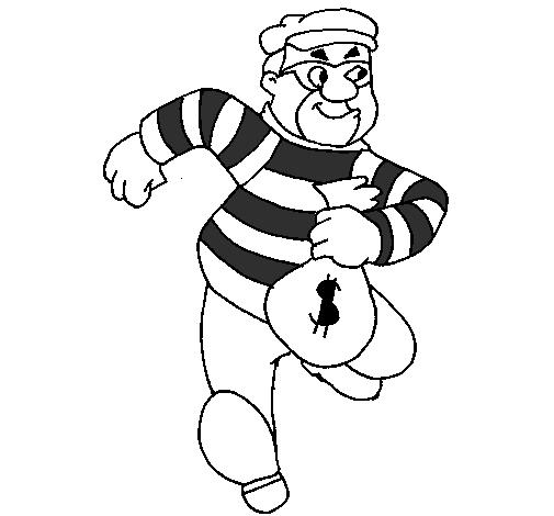 Resultado de imagem para desenho de ladrão