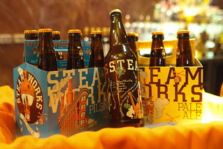 Steamworks Bottled Beer Launch Party