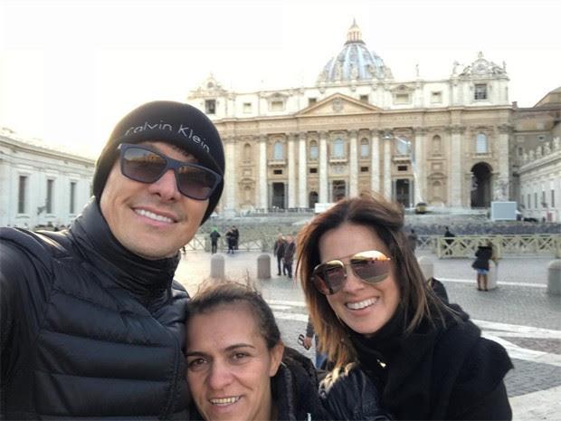 Rodrigo Faro, Ana e Vera Viel (Foto: Reprodução/Instagram)