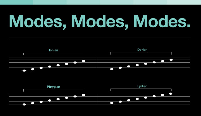 Music Theory Modes Modes Modes What Are They Good For Dubspot